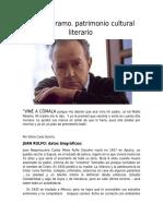 Pedro Páramo Patrimonio Cultural Literario