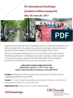 GeoDesign_info Session Flyer