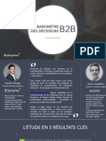 Baromètre B2B - Enterprise@IProspect Et Infopro Digital