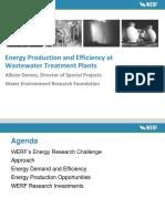 2013 01 31 Allison Deines Presentation on WERF Energy Challenge