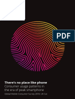 Deloitte Mobile Consumer 2016 There is No Place Like Phone