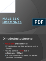 Male and Female Sex Hormones