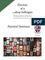 Election of a Bishop Suffragan - Potential Nominees