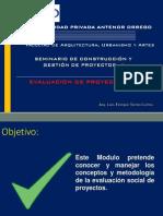 SOSTENIBILIDAD PERFIL DE PROYECTO