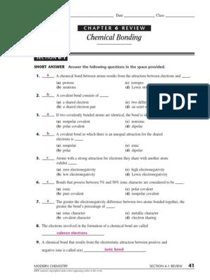 74853054 Chemical Bonding | Ionic Bonding | Chemical Bond