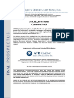 Final Prospectus - ATRKE Equity Opportunity Fund