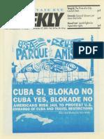 """""""Cuba Yes, Blokade No"""" - Nov. 17, 1993"""