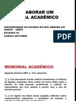 Como Elaborar Um Memorial Acadêmico