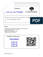 Constructing Triangles PDF