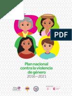 Plan Nacional Contra La Violencia