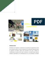 Informe de Señalizacion en Carreteras- Obras Viales II (Autoguardado)