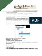 Conectar Una Base de Datos de Mysql en Visual Basic2008