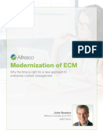 Alfresco Whitepaper Modernization of ECM