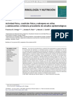 Activ Fisica Condic Fisica Salud Nens i Adolescentes Estudios Epidemologicos 2012