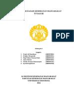 DASKESMAS - TUGAS III FKM EKSTENSI UI 2016