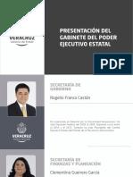 PERFILES DE LOS INTEGRANTES DEL GABINETE DEL PODER EJECUTIVO ESTATAL