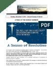 Pastor Bill Kren's Newsletter - December 4, 2016
