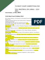 CLEA 2016 Problem