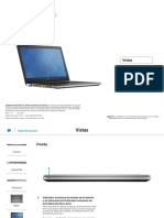 Inspiron 15 5558 Laptop Reference Guide Es Mx