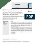 Efecto Del Vendaje Neuromuscular Sobre El Acortamiento de Los m Sculos Isquiotibiales 2015 Fisioterapia