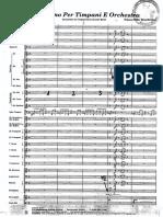 Concertino Per Timpani E Orchestra Klaus Peter Bruchmann