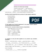 Determinantes y Pronombres