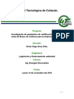 Bonos de Carbono Oficial