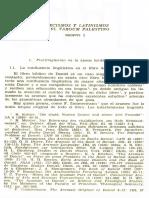 Luis Diez Merino, Grecismos y Latinismos en El Targum Palestino (Neofiti 1)