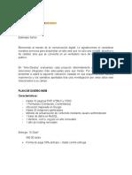 Proforma Diseño WEB