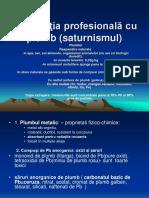c7 Intoxicaţia Profesională Cu Plumb (Saturnismul)