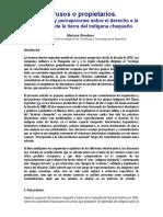 Mariana Giordano Intrusos y Propietarios