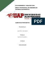 Ejercicios Propuestos- Requerimientos Funcionales