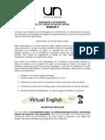 Bienvenida Estudiantes Inglés Virtual N4 (2013-2)
