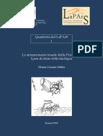 Quaderni La Pars 1 - Pesi dei telai  della Preistoria Sarda.-