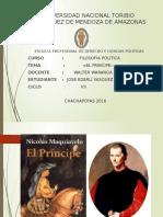 Diapositivas Nicolas Maquiavelo