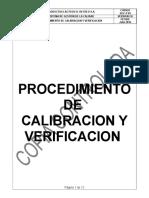 Procedimiento de Calibracion
