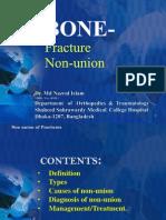 """BONE FRACTURES  NON-UNION""-  Diagnosis And Management:"
