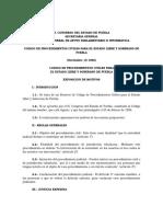 Codigo de Procedimientos Civiles 1986 Abrogado Definitivo