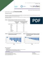 Indec, caída de la industria septiembre 2016
