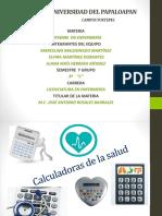 ACTIVIDA 7.Calculadoras de La Salud