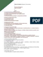 Programa de História do Brasil