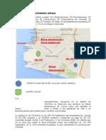 Dosificación y Crecimiento Urbano