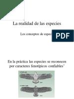 Teoria y Realidad Especie EH