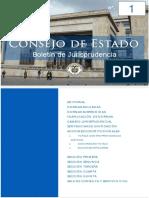 BOLETIN CONSEJO DE ESTADO (Colombia) Boletín No 1 - Segunda época (Noviembre de 2016).pdf