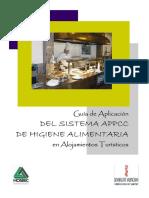 Guía APPCC Turismos Hoteles Cocinas. APPCC Valencia Castellón Alicante. Prácticas Correctas de Higiene Alimentarias en Alojamientos Turísticos.
