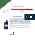 Información y Características de Nuestros Lubricantes