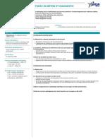 Pathologies Des Structures en Béton Et Diagnostic