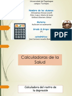 Calculadora de La Salud, Actividad 7, Parcial 2