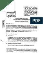 """Dictamen PL N°201/2016-CR, """"Ley de Inclusión del Valor del Aporte del Trabajo No Remunerado en las Resoluciones Judiciales Sobre Pensiones Alimentarias"""""""