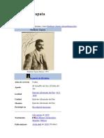 Emiliano Zapata - Biografia Wikipedia